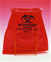 Autoklaveposer Biohazard, 220 x 280 mm