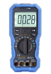 multimeter, digital - MS m/automatsikring+Bluetooht