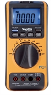 Multimeter, digital- m/temp. og USB